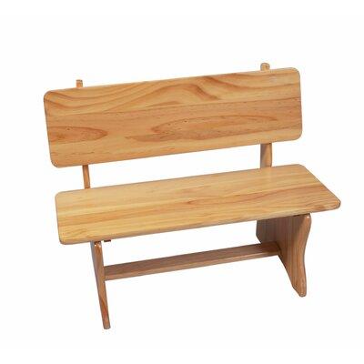 Children's Bench Finish: Natural
