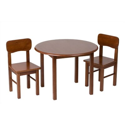Gift Mark Kids 3 Piece Table and Chair Set - Finish: Cherry at Sears.com