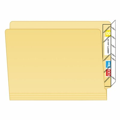 Protector, End Tab Folder, 100/Pack