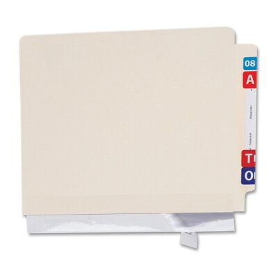 Folder edge protectors, Self Adhesive, 11x2, 100 per Pack, Clear