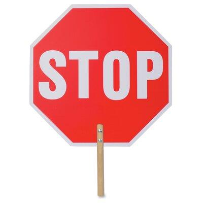 Handheld Stop Sign
