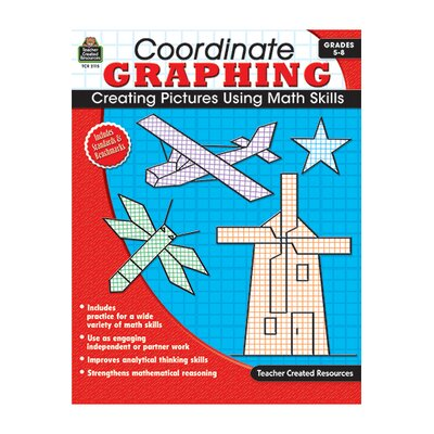 Teacher Created Resources Coordinate Graphing Gr 5-8 No Cd at Sears.com