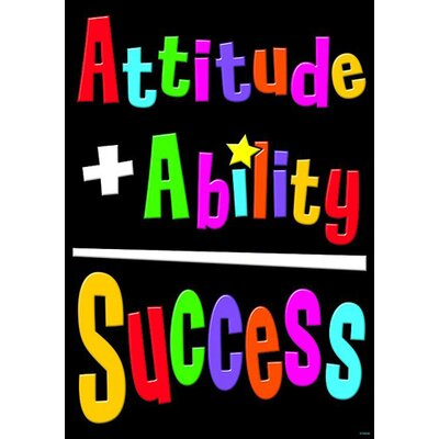 Attitude Ability Success Poster (Set of 3) T-A67323