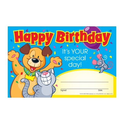 Happy Birthday it Your Award (Set of 3) T-81016