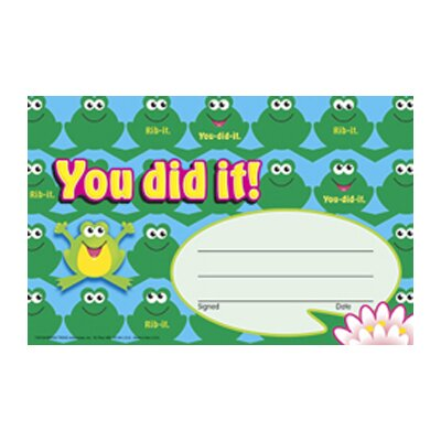 You Did It Frogs Award (Set of 3) T-81034