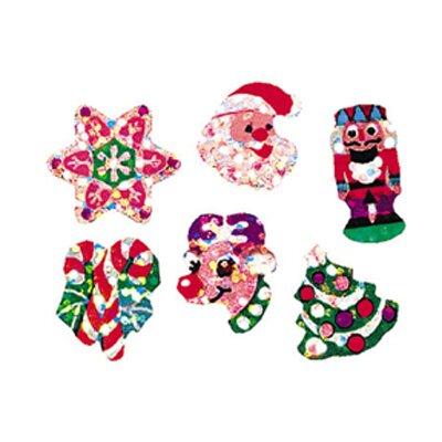Sparkle Christmas Joys Sticker (Set of 4)