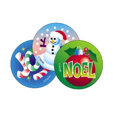 Stinky Christmas Sticker (Set of 3)