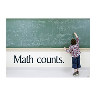 Math Counts Poster (Set of 3)