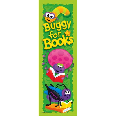 Books and Bugs Bookmark (Set of 3) T-12032