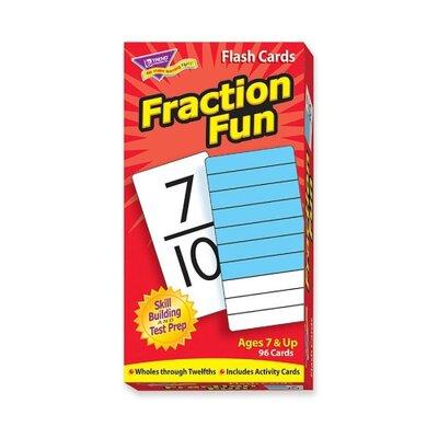 Fraction Fun Flash Cards, 96 per Box TEP53109