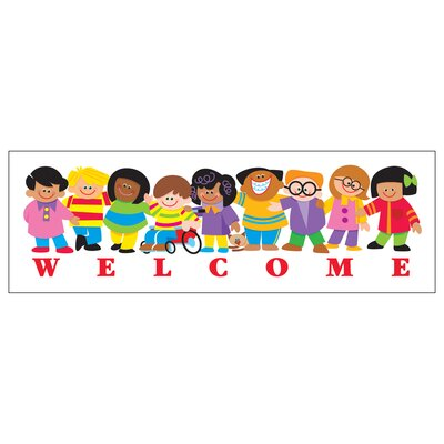Welcome Kids Bookmark T-12007