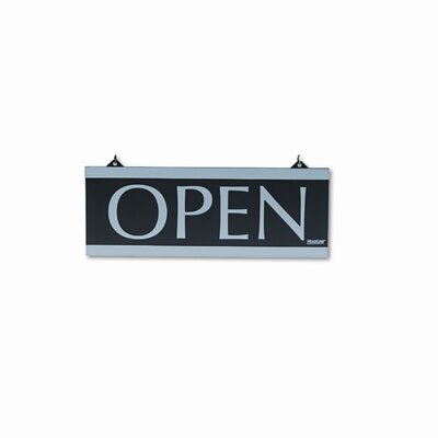 Headline Sign Century Series Reversible Open/Closed Sign