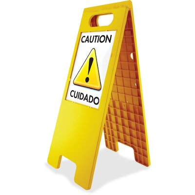 Double Sided Floor Tent Sign