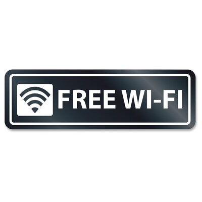 Free Wi-Fi Window Sign
