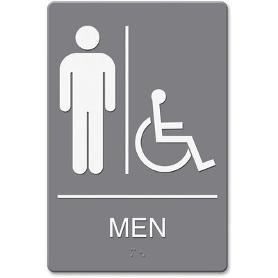 Headline Men/Wheelchair Image Indoor Sign