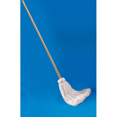 UNISAN Deck Mop with Wooden Handle and Cotton Fiber Head at Sears.com