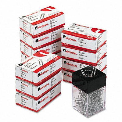 Paper Clips, 1000/Pack (Set of 3)