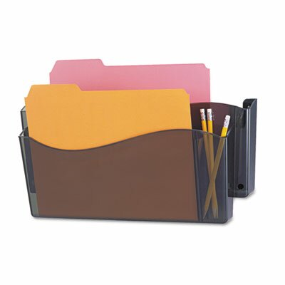 Unbreakable 4-In-1 Wall File, Two Pocket, Plastic