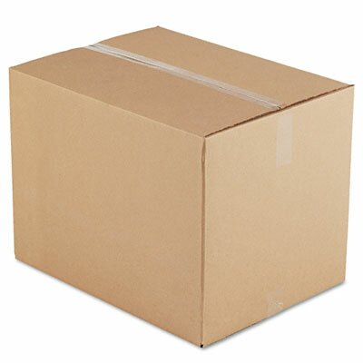 Corrugated Kraft Fixed-Depth Shipping Carton, 10/Bundle