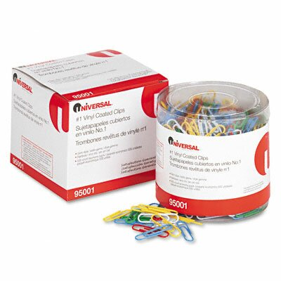 Paper Clips, 500/Pack (Set of 3)