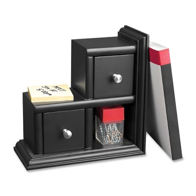 Midnight Reversible Bookend Height: 5.7
