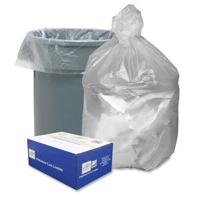 High Density Resin 30-Gal. Trash Bags HD303710N