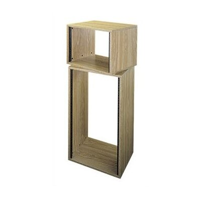 OBRK Series Oak Laminate Knock-Down Rack Rack Spaces: 12U Spaces
