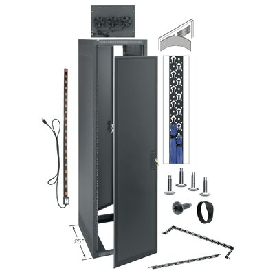 ERK Series Gangable Rack Enclosure Rack Spaces: 21U