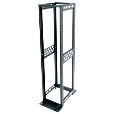 R4 Series Four Post Open Frame Rack Rack Spaces: 45U Spaces, Depth: 30