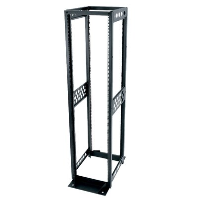 R4 Series Four Post Open Frame Rack Rack Spaces: 38U Spaces, Depth: 24