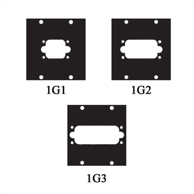 UCP Series Multipin AMP Cable Punchouts, Fits G Series Connectors Fits: G1 Connector