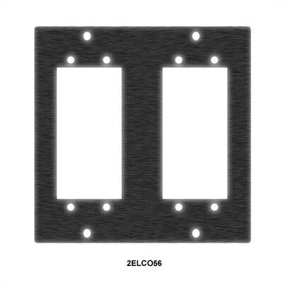 UCP Series Multipin Elco/Edac 2 Cable Punchout Fits: 90 Pin