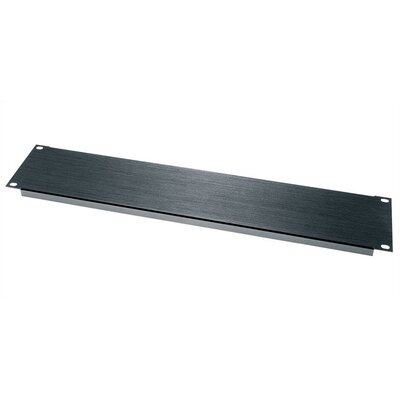BL Series 16-gauge Aluminum Flanged Panel Rack Spaces: 2U Spaces