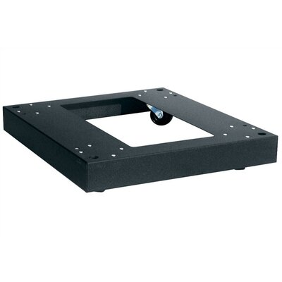 ERK Series Floor Friendly Caster Base Rack Enclosure Depth: 20 Deep, Caster Type: Fine Floor