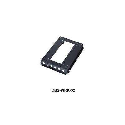 WRK Series Commerical Grade Caster Base Rack Enclosure Depth: 32-1/2 Deep