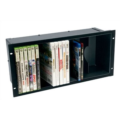 DVD Holder Finish: Black Anodized