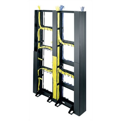 CK Series 45U Space Relay Rack End Cable Organizer