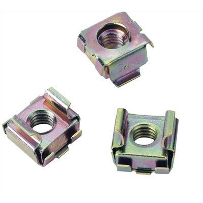 DRK Series 100 Piece 6MM Cage Nuts