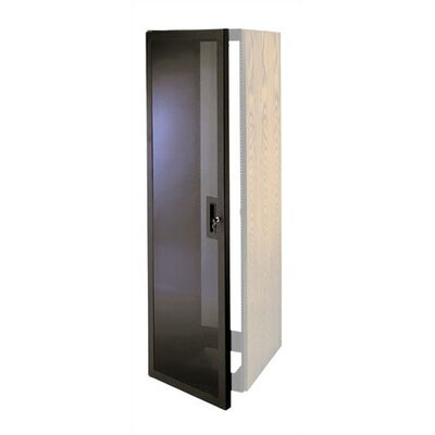 Slim 5 Plexi Door Rack Height: 50 3/4 H (29U space)
