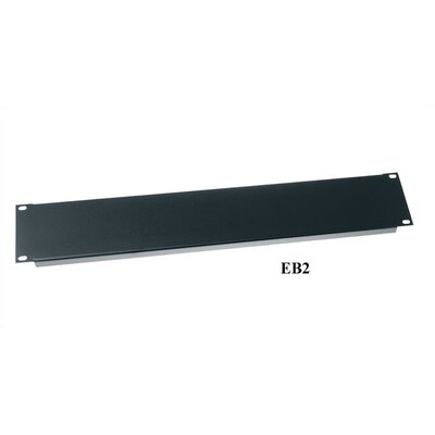 19 W Flanged Economical Blank Panel Panel Height: 8 3/4H (5U space)