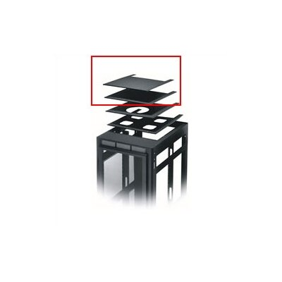 ERK Series Solid or Vented Rackmount Top Finish: Black, Top: Solid