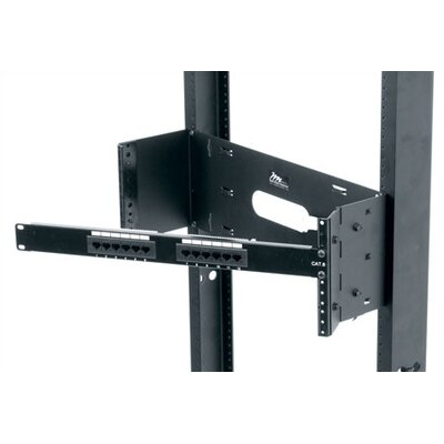 HPM Series Hinged Panel Mount Rack Spaces: 1 3/4 H (1U space)
