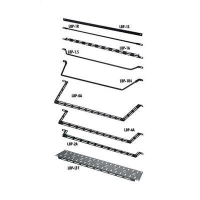 VRK Series 19 W Horizontal Lacer Bars (Round) Rod Offset by (Number of Inches): 4