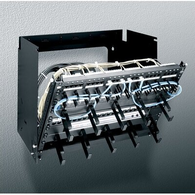 Pivoting Panel Mount Rack Spaces: 8U Spaces, Depth: 12
