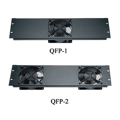 Quiet Fan Panel Thermal Management Number of Fans Installed: 1 Fan, Color/Finish: Black Brushed