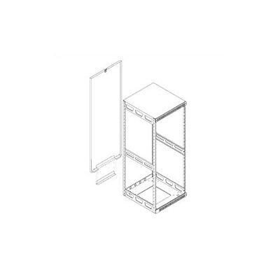 Slim 5 Rear Access Pan Rack Height: 75.25 H (43U space)