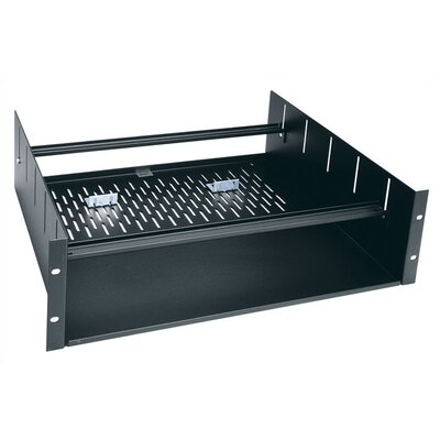 Clamping Rackshleves with 2 -4 Spaces Shelf Height: 3 1/2 H (2U space)