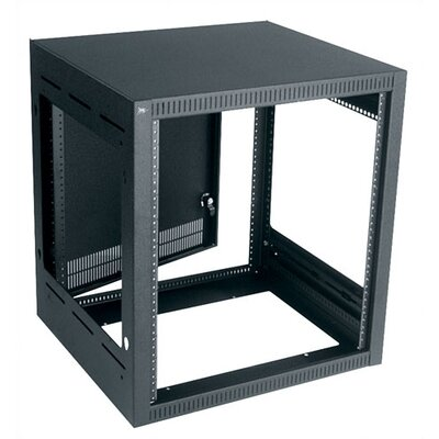Convective Series Top Monitor Rack Color: Black