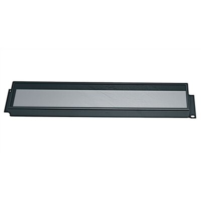 Security Cover for Rackmount, Non-hinged Plexiglass Height: 3 1/2 H (2U Space)