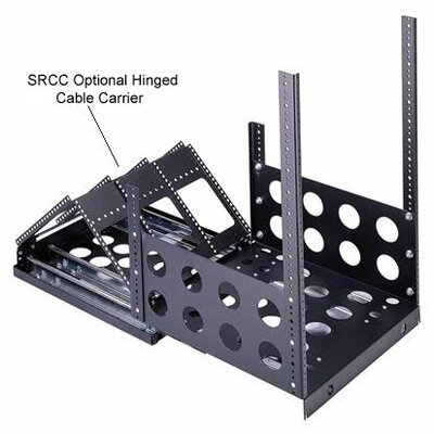 SRS Series Sliding Rail System (150 Lb. Capacity) Rack Spaces: 9U Spaces